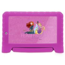 Tablet Disney Princesas Plus Wifi 8Gb Dual Câmera Android 7 Rosa Multilaser - NB281