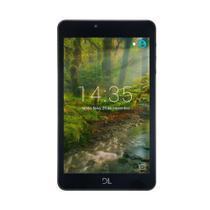 "Tablet DL Creative Tab 8GB 7"" WiFi Android Quad Core,  Preto -"