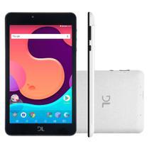 """Tablet DL Creative Tab, Tela 7"""", 8GB, Câmera, Wi-Fi, Android 7 e Processador Quad Core de 1.2 GHz -"""