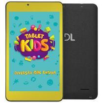 Tablet dl kids c10 8gb 1gbram wi-fi camera frontal - tx394pbv - Dl Tablets
