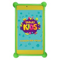 Tablet DL Kids C10, Tela de 7, 8GB, Wi-Fi, Android 7.1.2, Quad Core 1.2Ghz + Capa de Silicone Bumper