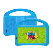 Tablet DL Kids Plus TX398PCA Tela 7 8GB/1GB Wi-Fi Preto/Azul -