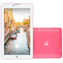 Tablet DL Mobi, 8GB, Dual Chip, 3G, Wi-Fi, Bluetooth, Rosa - TX384