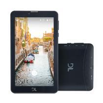 """Tablet DL Mobi Tab 3G, Tela 7"""", 8GB, Dual Chip, Função Smartphone, Android 7, Quad Core de 1.3 GHz -"""