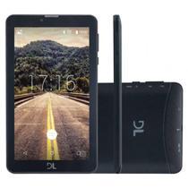 """Tablet DL Mobi Tab, 7"""", 3G, Dual Chip, 8GB - Preto -"""