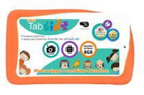 Tablet DL Tab Kids com Tela de 7, 8GB, 2 Câmeras, Android 5.1, 768MB, Quad-Core de 1.2GHz -