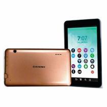 """Tablet Everex Quad Core, Tela 7"""", 1GB RAM, 16GB, Android 8.1 - Dourado -"""