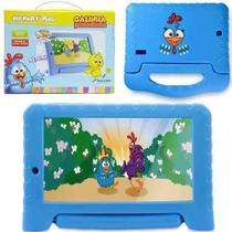Tablet Galinha Pintadinha Infantil 7 Pol 1gb Ram Quad Core - Multilaser