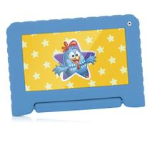 Tablet Galinha Pintadinha Quad Core 8gb Wifi Azul Multilaser - Nb249