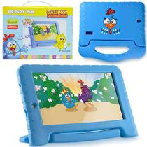 Tablet Infantil 7 Pol Galinha Pintadinha Quad Core 1gb Ram Wifi 8gb Android 7.0 Crianca (NB282) - Multilaser
