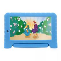 Tablet infantil galinha pintadinha plus multilaser azul 8gb android wifi nb282 -