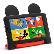 "Tablet Infantil Mickey Mouse Plus Android 8.1 Quad Core 7"" Câm. 2MP Wi-Fi 16GB Multilaser -"