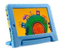 "Tablet Infantil Multilaser Discovery Kids 16GB 7"" Wi-fi Dual Câm Azul -"