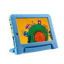 Tablet infantil Multilaser Discovery Kids 16GB Tela 7 Pol. Wi-fi Dual Câmera Azul - NB309 -