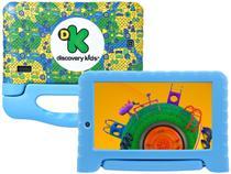 "Tablet Infantil Multilaser Discovery Kids com Capa - 7"" Wi-Fi 16GB Android 8.1 Quad-Core Câm. Integrada"