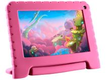 "Tablet Infantil Multilaser Kid Pad Go com Capa - 16GB 7"" Wi-Fi Android 8.1 Quad Core Câm. 1.3MP"