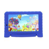 "Tablet Infantil Multilaser Kid Pad Plus 8GB Tela 7"" Android Processador Quadcore Câmera Integrada - Azul -"