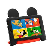 Tablet Infantil Multilaser Mickey Plus com Capa Android 8.1 16GB 7 Wi Fi  Quad Core Cam. 2MP -