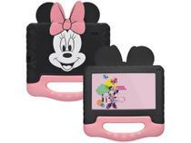 """Tablet Infantil Multilaser Minnie Mouse com Case - 7"""" Wi-Fi Android 8.1 Quad-Core Selfie 1.3MP -"""