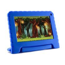"Tablet Infantil Multilaser NB303 Kid Pad Lite Tela 7"" Android Processador Quadcore Câmera Integrada - Azul -"