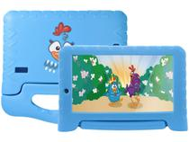 "Tablet Infantil Multilaser NB311Galinha Pintadinha - com Capa 7"" Wi-Fi 16GB Android 8.1 Quad-Core"