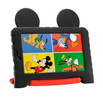 Tablet Infantil Multilaser NB314 Mickey Mouse Plus Quadcore Wi-fi 16gb Preto -