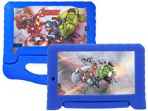 "Tablet Infantil Multilaser Vingadores Plus - com Capa 7"" Wi-Fi 16GB Android 8.1 Quad-Core"