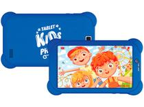 "Tablet Infantil Philco PTB7RSG3G KIDS com Capa 7"" - 3G Wi-Fi 16GB Android 9 Quad-Core Câm. 5MP"