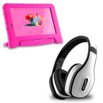 Tablet Infantil Princesa Wifi 8gb + Fone Bluetooth Branco - Multilaser