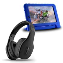 Tablet Infantil Vingadores 8gb + Fone Bluetooth Preto - Multilaser