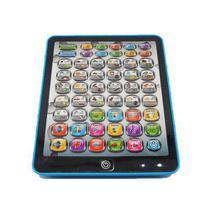 Tablet Interativo Educativo Infantil Didatico 54 Funções Ingles Portugues AZUL - Well Kids