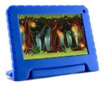 Tablet Kid Pad Azul Infantil Capa Emborrachada Android 8.1 - Multilaser