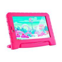 Tablet Kid Pad Multilaser 3G Plus Rosa 16Gb NB292 -