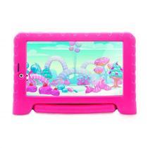 Tablet Kid Pad Plus 1GB Ram 16Gb 7 Pol. Rosa - NB292 - Multilaser