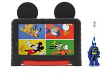 Tablet Kid Pad Plus Mickey Mouse 16GB Android 8 + Escova 3D - Multilaser