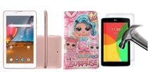 Tablet M7 3G plus Dual Chip Celular 16GB WIFI com Capa Case e Película de Vidro - Multilaser