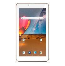 Tablet M7 3G Plus Dual Chip Quad Core 1 GB de Ram Memória 16 GB Tela 7 Polegadas Dourado NB306-Multilaser -