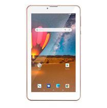 Tablet M7 3G Plus Dual Chip Quad Core 1 GB de Ram Memória 16 GB Tela 7 Polegadas Rosa NB305-Multilaser -