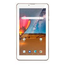 """Tablet m7 3g plus tela """"""""7"""""""" dual chip quad core 1gb memória 16gb dourado nb306 - Multilaser"""