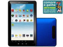 """Tablet Microboard Ellite Aluminium Android 4.0 8GB - Tela 7"""" Wi-Fi Conexão Mini HDMI  Proc. Boxchip A10"""