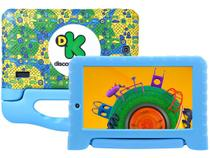 "Tablet Multilaser Discovery Kids 8GB 7"" Wi-Fi - Proc. Quad-Core Android 7.0 Câmera Integrada"