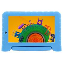 "Tablet Multilaser Discovery Kids NB309, 7"", Quad Core 1.3GHz, 1GB RAM, 16GB, 2MP - Azul -"