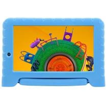 """Tablet Multilaser Discovery Kids Quad Core 1GB RAM Android 8.1 GO Dual Cam 1.3/2MP Tela 7"""" 16GB -"""
