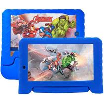 Tablet Multilaser Disney Avenger Plus Nb307 1gb 16gb Expansível 64gb 2 Câmeras Android