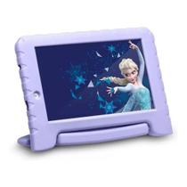 "Tablet Multilaser Disney Frozen Plus 7"" 16GB Lilás RAM 1GB -"