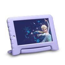 "Tablet Multilaser Disney Frozen Plus 7"" 16GB NB315 - Lilás -"