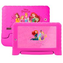 Tablet Multilaser Disney Princesa Plus Nb308 1gb 16gb Expansível 64gb 2 Câmeras Android -