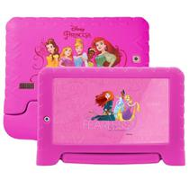 Tablet Multilaser Disney Princesas NB281, Rosa, Tela 7