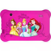 "Tablet Multilaser Infantil Disney Princesa, Quad Core, Android 4.4, Dual Câmera, Tela 7"", Wi-Fi, 8GB -"