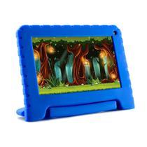 Tablet Multilaser Infantil Kidpad Go 7 Polegadas 16GB Azul Nb302 -